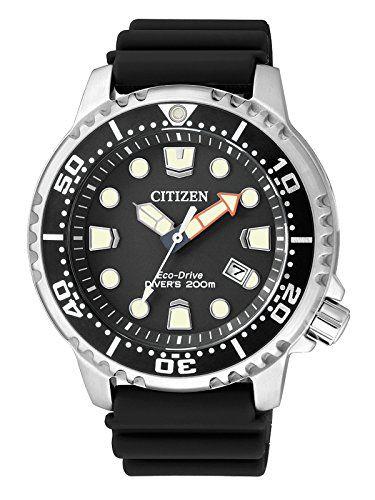Citizen Herren-Armbanduhr XL Promaster Marine Analog Quar...