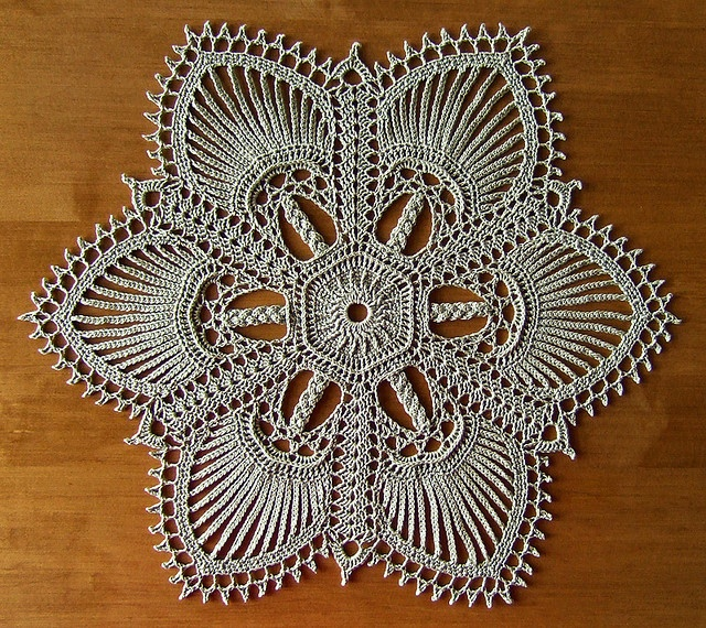 "from the book ""Exquisite Doilies"" by Patricia Kristoffersen - a set on Flickr - photos and completed doilies by Elaine Pawelko"