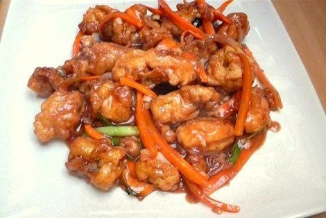 Bardzo smaczny przepis kuchni chińskiej. Kurczak i Szynka na Głębokim
