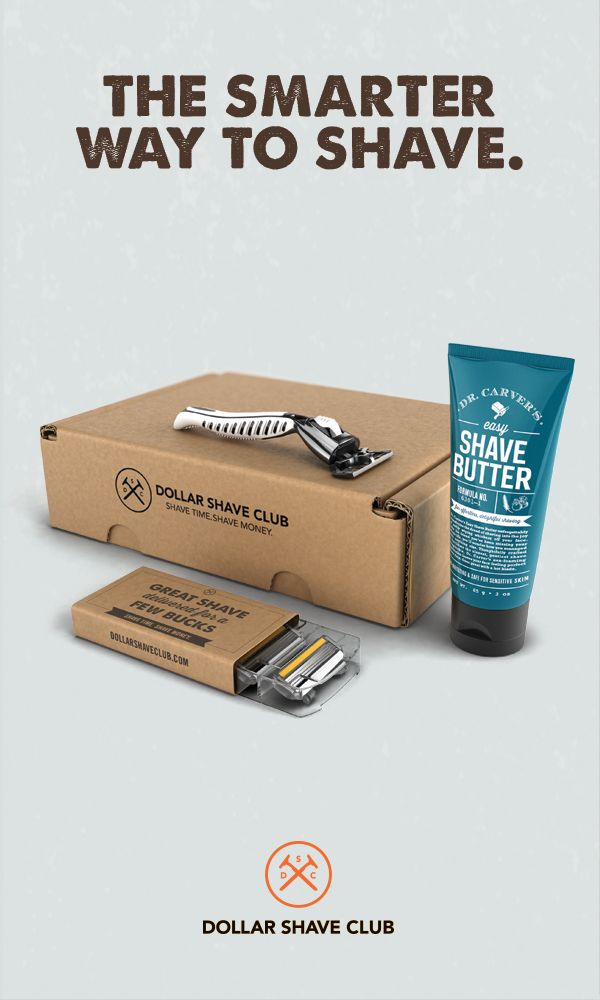 1 million+ people can't all be wrong. Dollar Shave Club delivers amazing razors for a few bucks. Try the Club today.