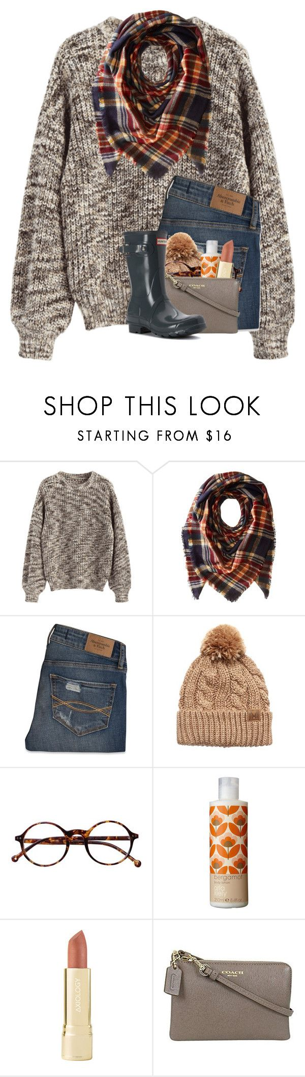 """january contest "" by madelinelurene ❤ liked on Polyvore featuring Collection XIIX, Abercrombie & Fitch, Retrò, Orla Kiely, Axiology, Coach and Hunter"