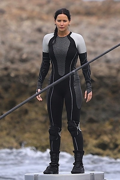 Jennifer Lawrence Told To Keep Her Curves For 'Silver Linings' Movie Scene from the Hunger Games