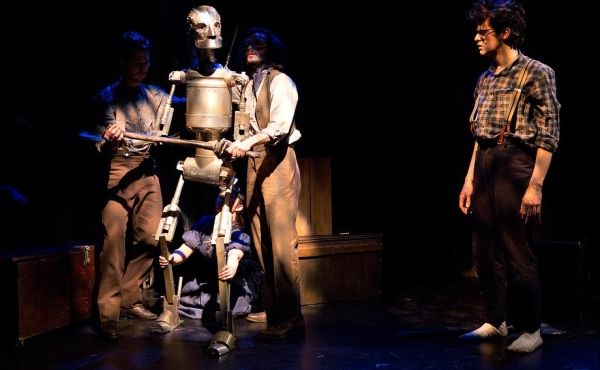 The woodsman - the tin man comes together in the most awesome way!