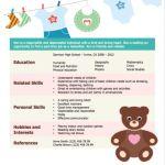 Babysitter Resume Example