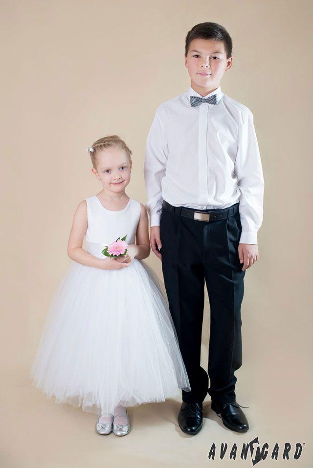 Chlapecká košile a motýlek AVANTGARD /// Boy shirt and bow tie AVANTGARD