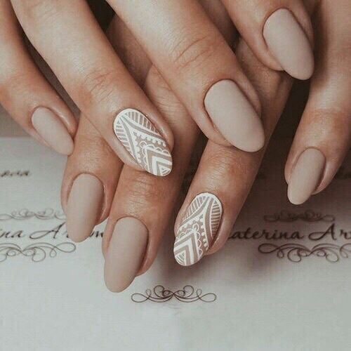 nails and beige image