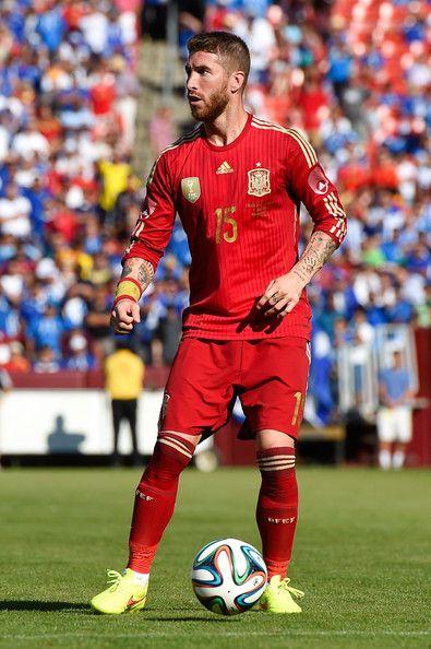 Sergio Ramos - El Salvador v Spain - International Friendly