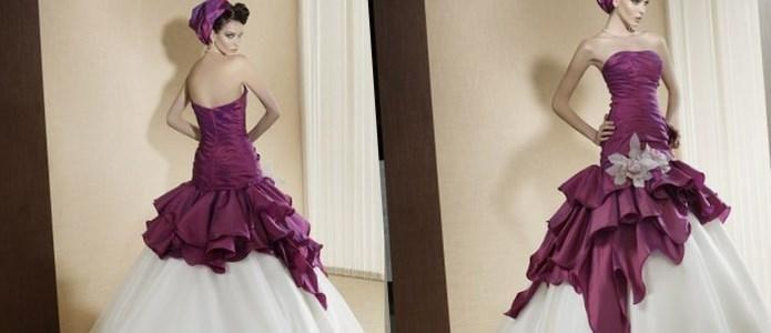 Яркие свадебные платья - http://1svadebnoeplate.ru/jarkie-svadebnye-platja-3636/ #свадьба #платье #свадебноеплатье #торжество #невеста