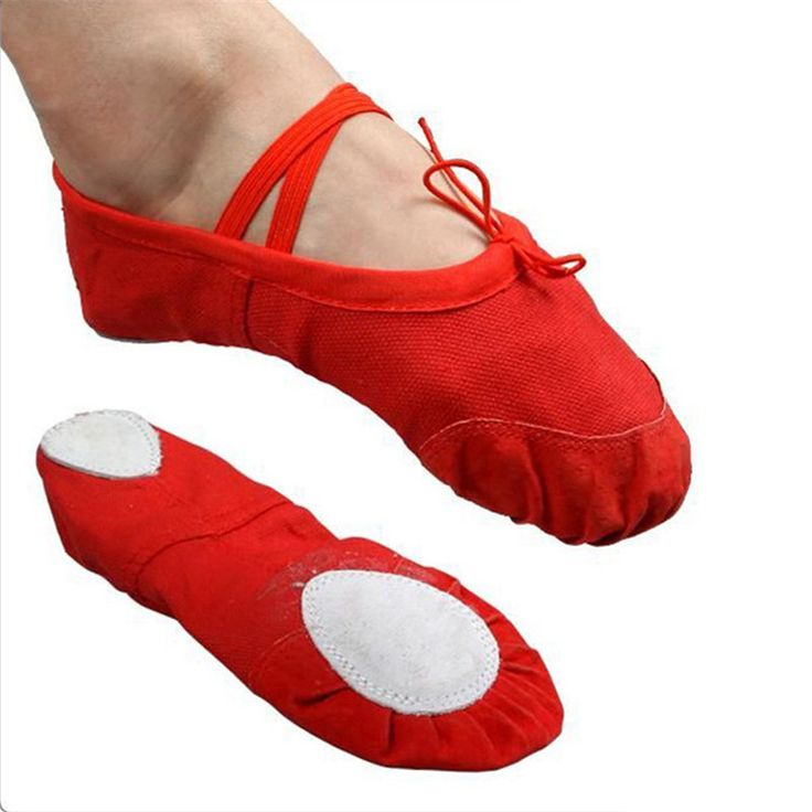 FreeShipping Soft Sole Dance Ballet Shoes for Kids Adults Women Fashion Breathable Canvas Practice Gym Shoes Yoga Shoes14.5~25cm
