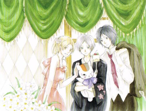Tanuma, Natsume, and Taki (best trio ever...)
