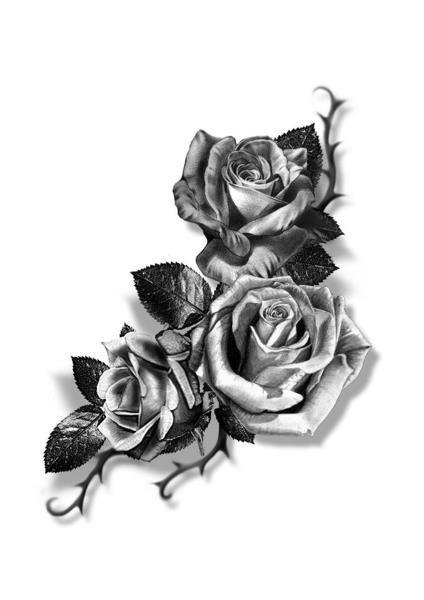 best 20 rose tattoos ideas on pinterest. Black Bedroom Furniture Sets. Home Design Ideas
