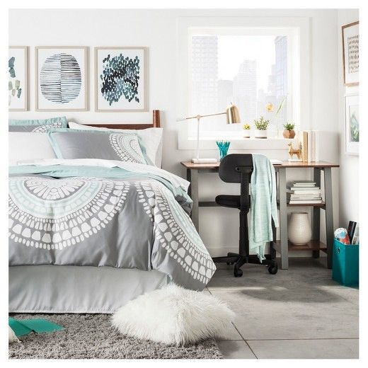 Bedroom Teenage Small Girls Room Purple Large Size: Teal Girls Bedrooms, Grey And Teal Bedding And