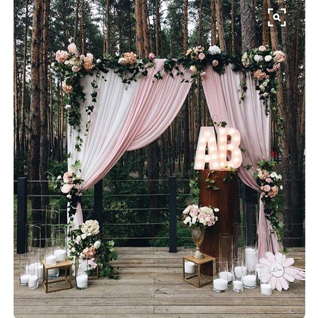 Dos altares mais lindos que já vi! ❤️ O cantinho mais especial do casamento! Não deixem de prioriza-lo! - One of the most beautiful beautiful wedding altars I've ever seen. How about you? #berriesandlove #altarlindo #casamentodedia #casamentorustico #weddingidea