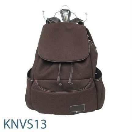 KNVS 13 , Ransel Bahan Kanvas. Rp. 50.000