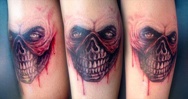 25 Graceful Scary Tattoos - SloDive