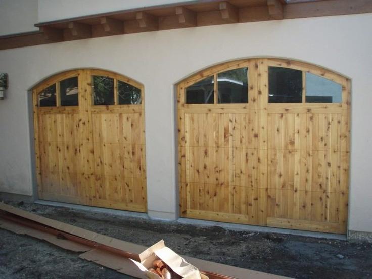 Knotty Cedar with custom arched top to match opening & 15 best Monterey Bay u0026 Santa Cruz Custom Wood Doors images on ...