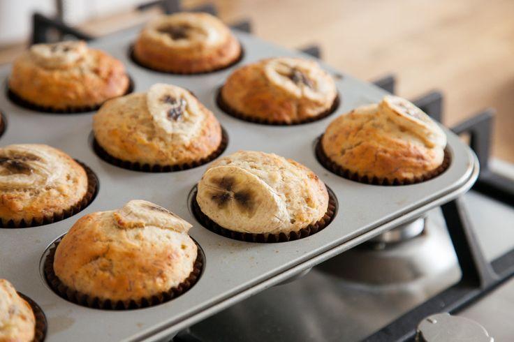 Банановые кексы без сахара - рецепт - как приготовить - ингредиенты, состав, время приготовления - Леди Mail.Ru