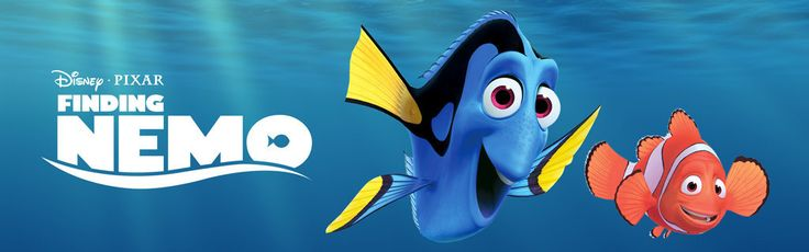 Disney Pixar Finding Nemo cover with Dory