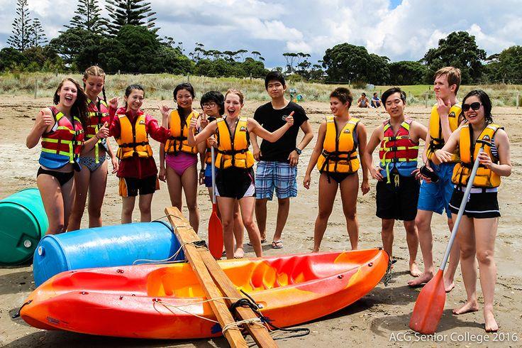 Year 11 Orientation Camp at Long Bay