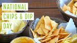 Nutrition chips and dip celebrate national holidays
