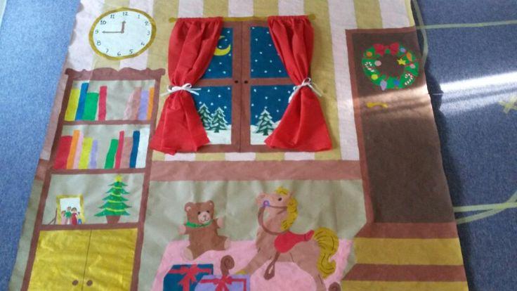 Χριστουγεννιάτικο σκηνικό σπιτιού!