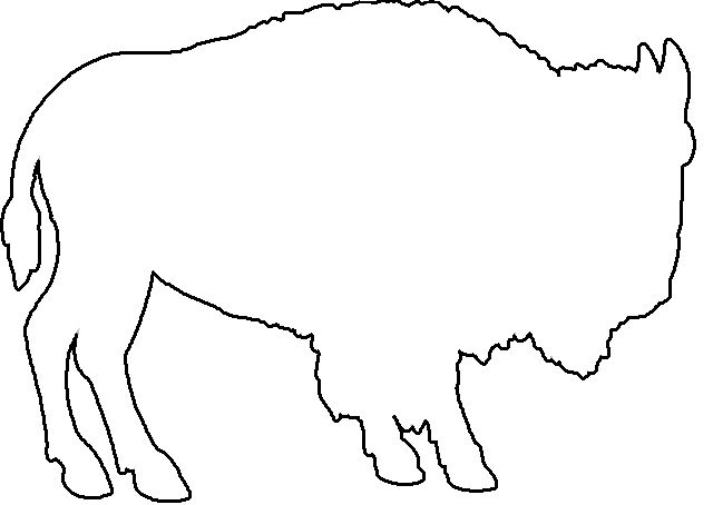 buffalo graphics | Download vector about buffalo silhouette item 1 , vector-magz.com ...
