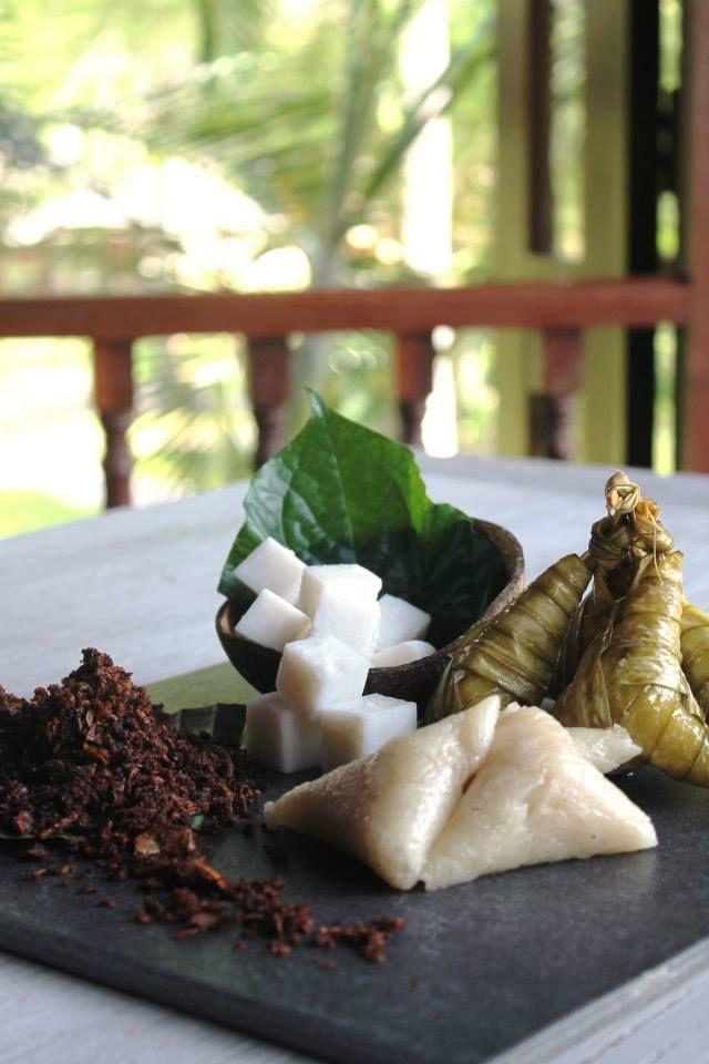 Serunding Ikan and Ketupat at Four Seasons Resort Langkawi, Malaysia. #Ramadan #Malaysia