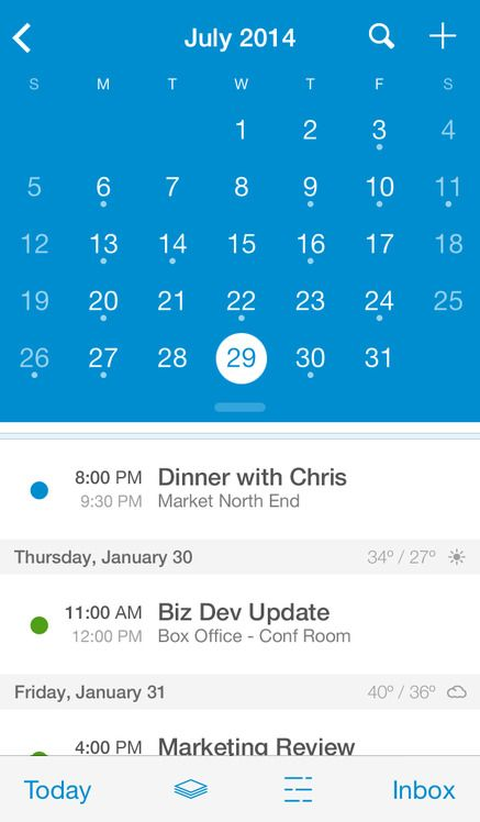 UpTo Calendar - Syncs with Google Calendar, iCloud, Outlook and more - iOS Store Store Top Apps | App Annie