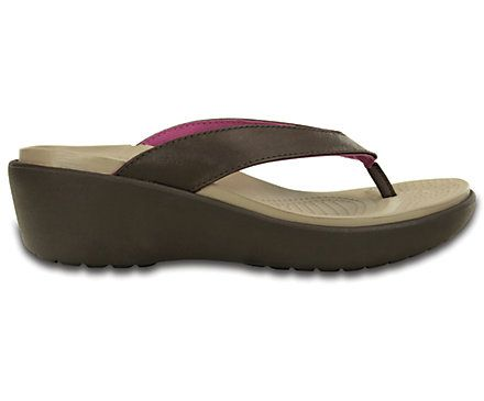 84460403a69e Women s Capri Leather Flip Wedge