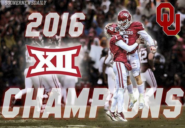 Back to back. 10th #Big12 title under Bob Stoops. #BoomerSooner