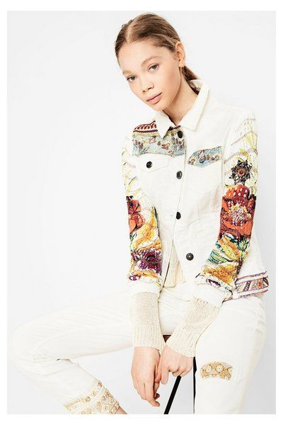 Jacket Exotic White 72E2JK5_5178