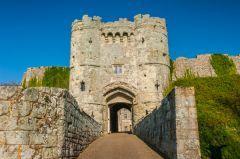 Carisbrooke Castle - Newport, Isle of Wight, England