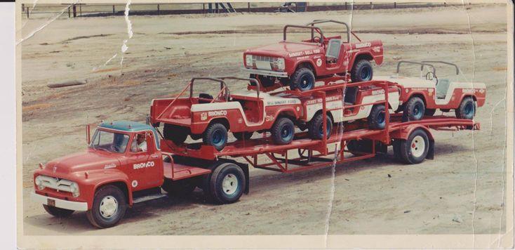 Bill Stroppe Racing Broncos 1968