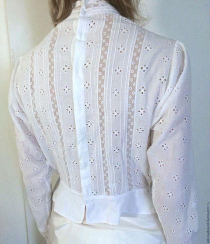 Одежда. Викторианская блуза из батиста.. Старый Бельевой Шкаф. Интернет-магазин…