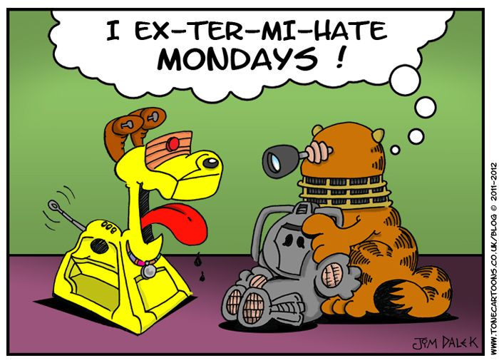 Garfield+Doctor Who=AWESOME: Geek, Extermih Mondays, Teddy Bears, Doctorwho, Comic Books, Funny, Doctors Who, Dr. Who, Fans Art
