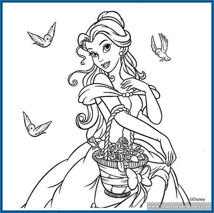 Dibujos De Princesas Disney Para Colorear E Imprimir