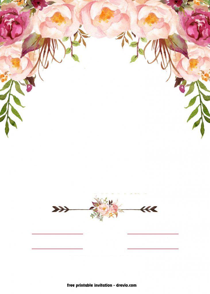 Мужа час, шаблон свадебного приглашения в ворде