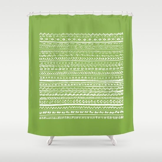 17 Best ideas about Green Lined Curtains on Pinterest | Curtains ...