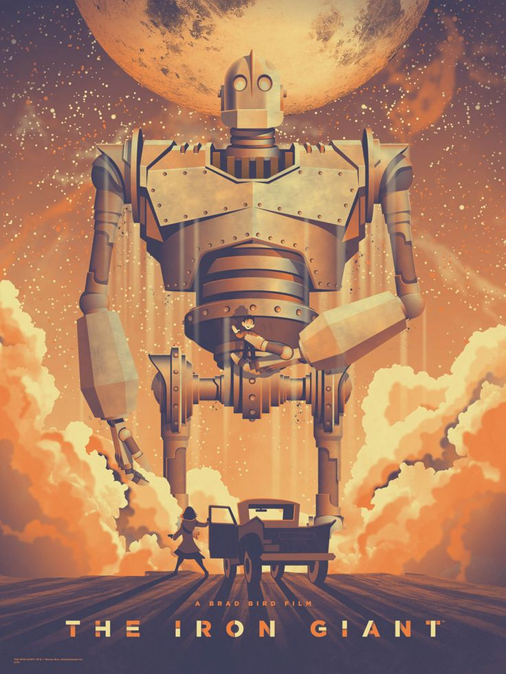 THE IRON GIANT Poster by DKNG — GeekTyrant