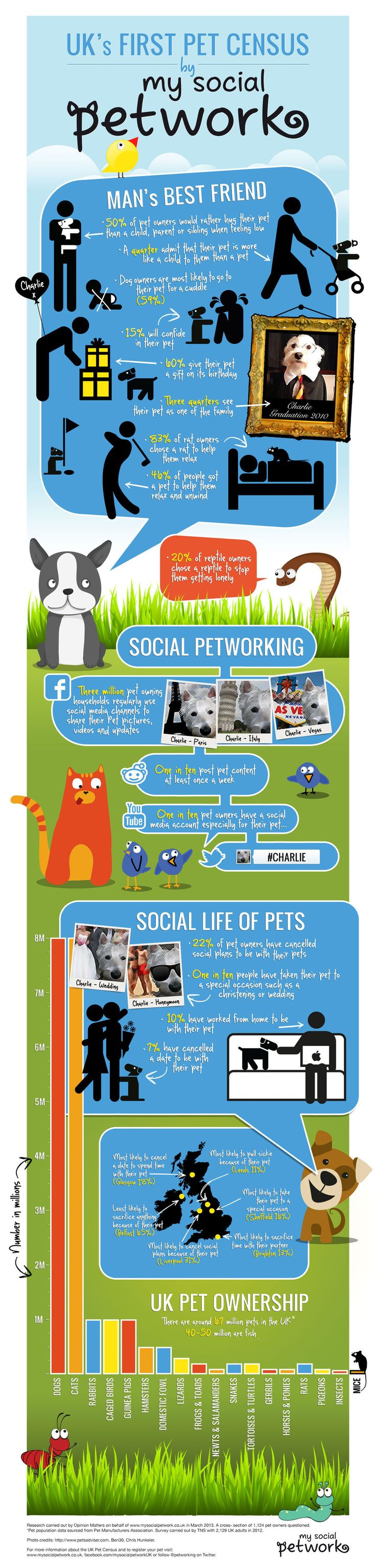 Pet census visit our new infographic gallery at http visualoop com