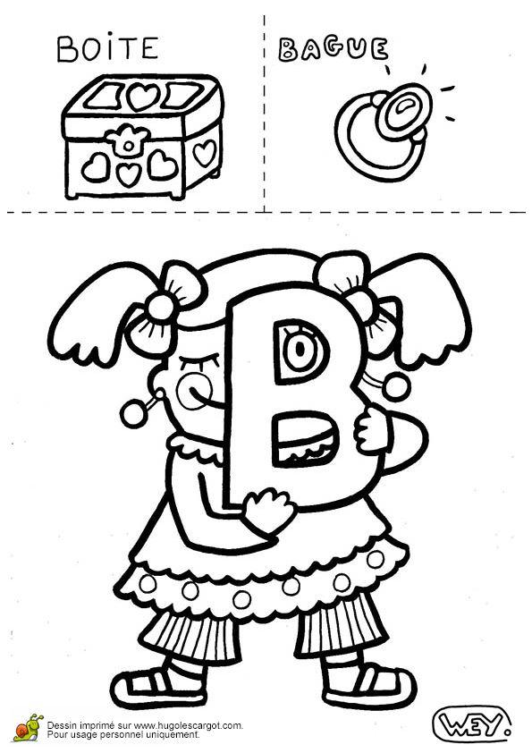 Lettre B Boite Bague, page 2 sur 26 sur HugoLescargot.com