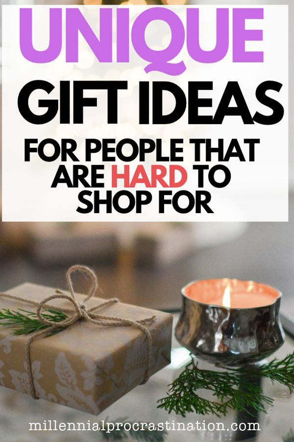 Best Unique Gifts For People Who Are Hard To Buy For Christmas