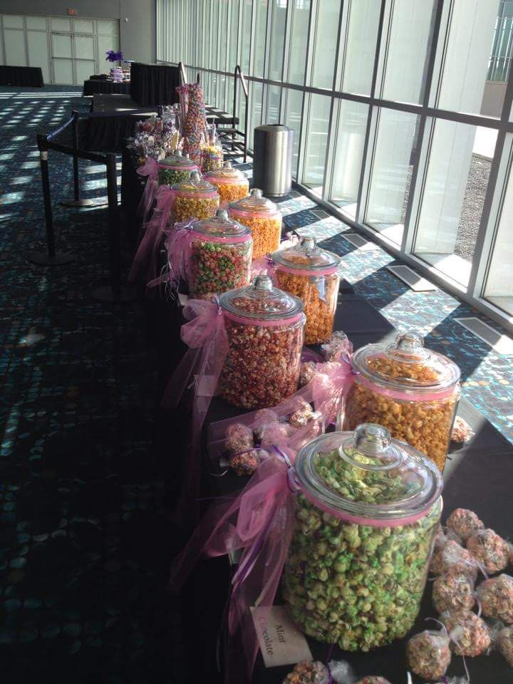 Looking for a creative, fun & unique addition to your wedding or event? Look no more! Set up a popcorn bar! www.bobkorn.com can hook you up! Now, order bulk popcorn online from anywhere in the country and receive a fresh shipment to set up on your big day!!