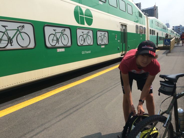 Bring your bike on the GO from Niagara Falls to Toronto.