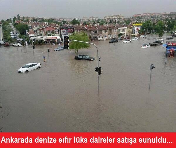 Ankarada Denize Sıfır Lüks Daireler Satışa Sunuldu