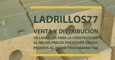 LADRILLOS 77 : Ladrillos77 venta de ladrillos puesto en obra!!!