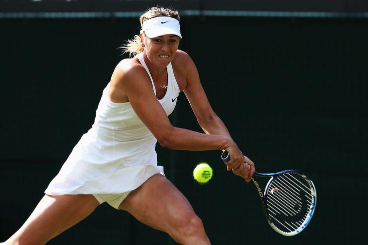 Maria Sharapova Photos: Wimbledon: Day 2