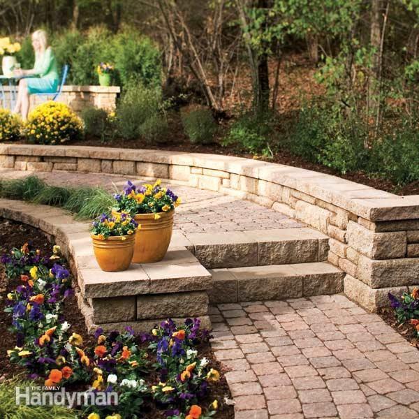Best 25 Garden Steps Ideas On Pinterest: Best 25+ Concrete Blocks Ideas On Pinterest