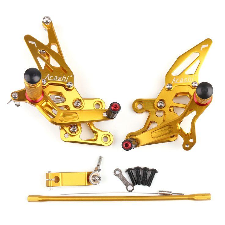Mad Hornets - CNC Adjustable Rearsets Rear Set Footpeg Yamaha FZ1 (06-14) FZ8 (10-13) Gold, $159.99 (http://www.madhornets.com/cnc-adjustable-rearsets-rear-set-footpeg-yamaha-fz1-06-14-fz8-10-13-gold/)