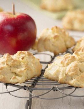 Fruchtiges Weihnachtsgebäck: http://kochen.gofeminin.de/rezepte/rezept_apfelkekse_340292.aspx